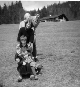 Foto: Freitags, Mathias und Oma