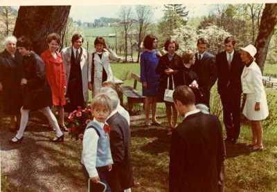 Foto: Hochzeitsgesellschaft