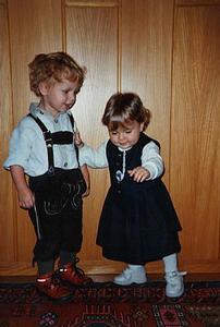 Foto: Raphael mit Isabella