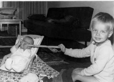 Foto: Martina und Baby Mathias